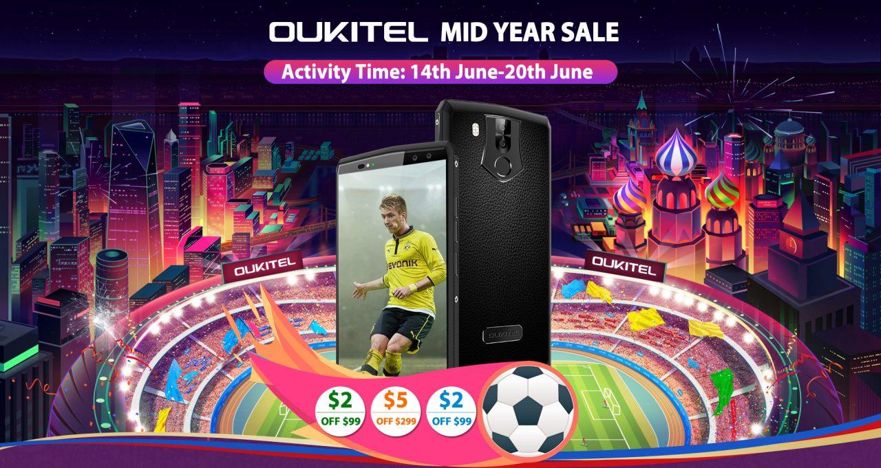 Oukitel lancia una settimana di sconti: prezzi popolari e smartphone per tutti i gusti