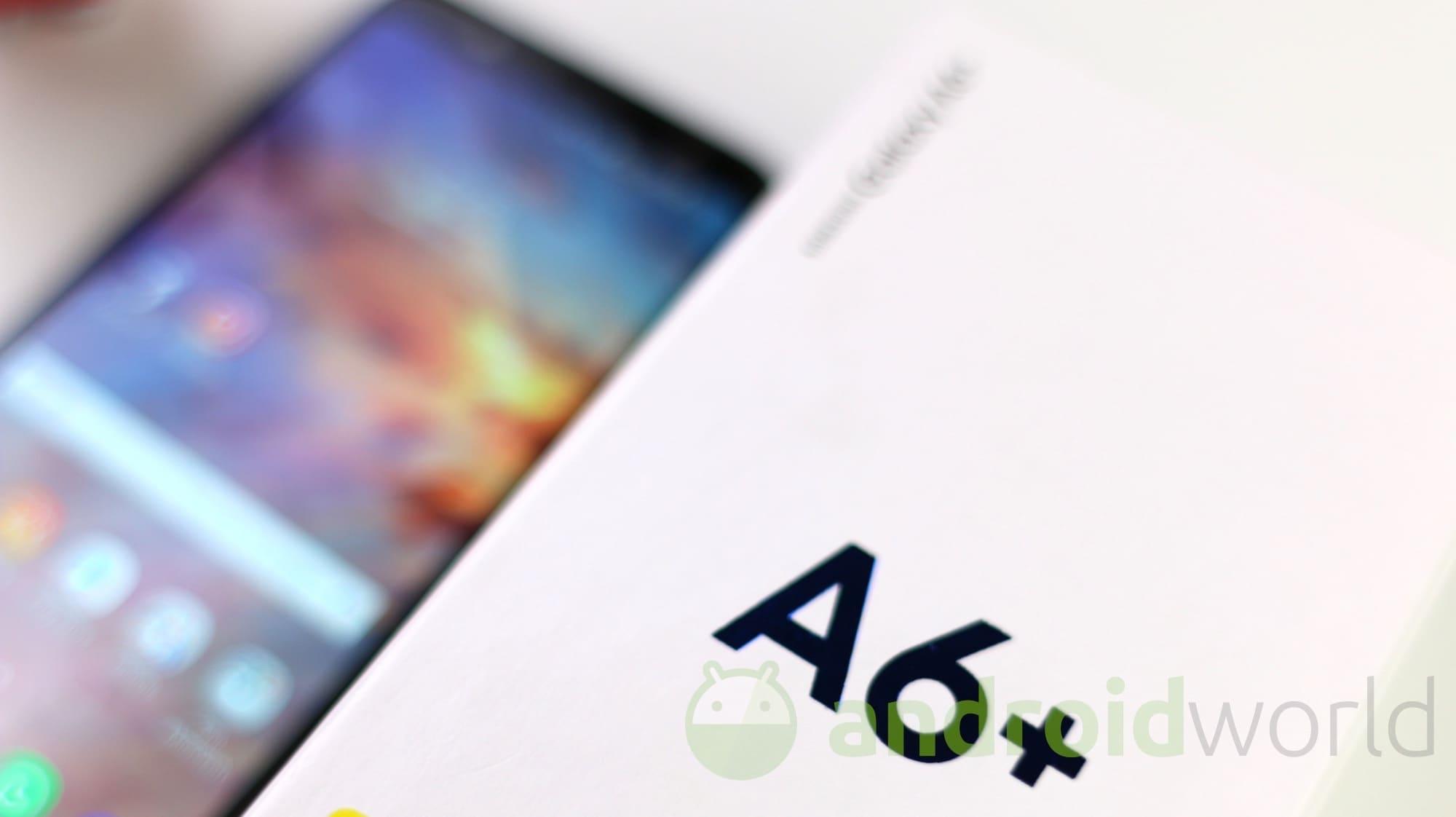 Samsung Galaxy A6 Plus – 1