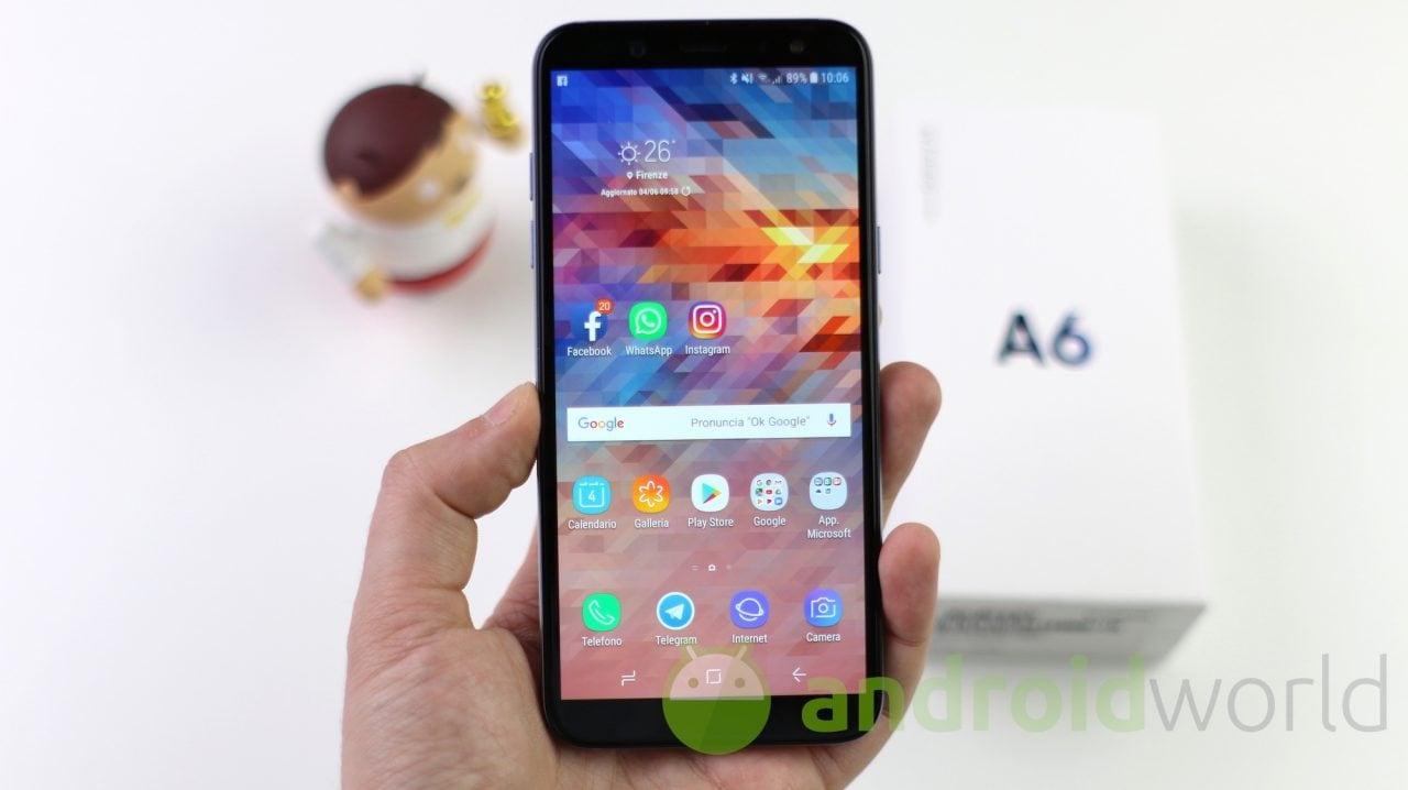 Samsung accelera su Android 10 per la fascia media: il prossimo aggiornamento sarà per Galaxy A6, A6+ e A7