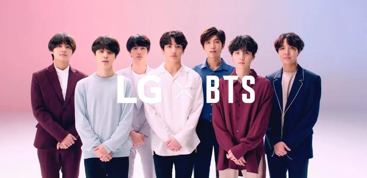 Fan dei BTS? LG lancia contenuti esclusivi della band per il suo G7 ThinQ ed altri dispositivi (video e foto)
