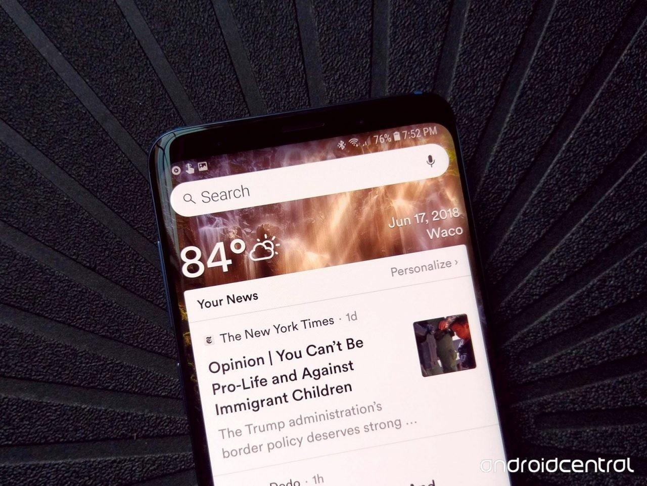 Evie Launcher si candida a sostituito di Google Now con diverse interessanti novità (foto)