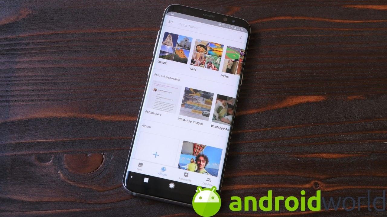 Google Foto 4.13: a lavoro su nuove opzioni di condivisione e nuovo layout per la scheda Assistente (foto)