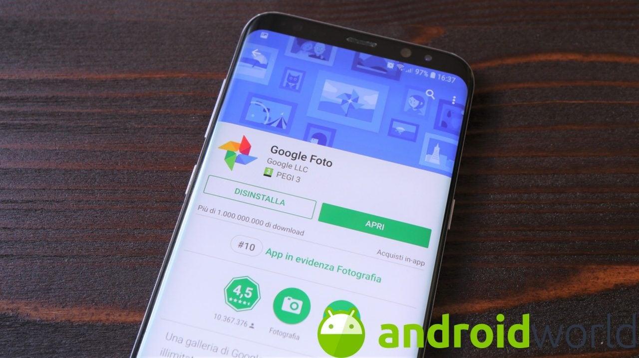 Google Foto: arriva il controllo degli Smart Display direttamente in app, lo avete anche voi? (foto)