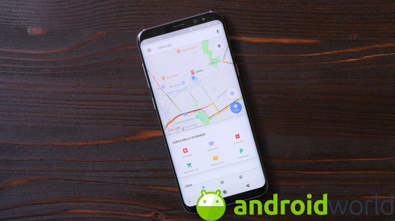 Google Maps con il nuovo Material Design: lo avete anche voi? (foto)
