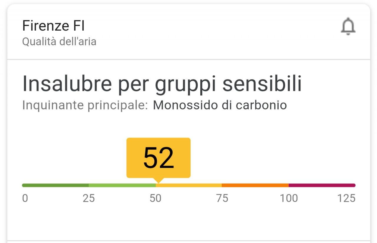 Google ora vi avvisa se fuori tira una brutta aria: avete anche voi la notifica? (foto)