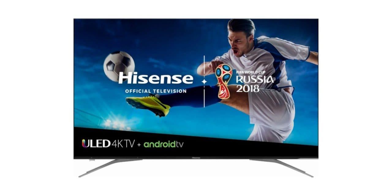 Hisense annuncia i prezzi per gli USA dei nuovi TV 4K HDR con Android TV (foto)