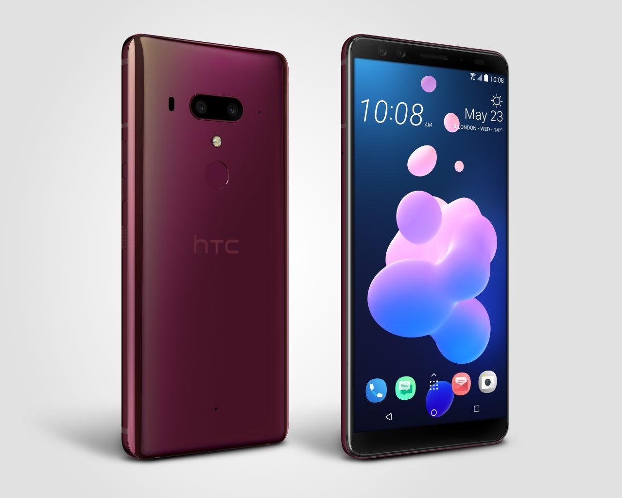 HTC U12+ elimina i limiti alla registrazione video 4K grazie all'ultimo aggiornamento