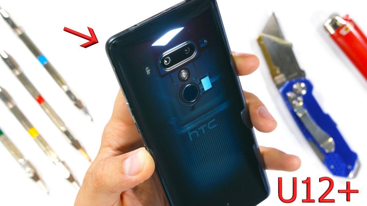 HTC U12+ nel test di resistenza di Zack: non è un fiasco, ma nemmeno un trionfo (video)
