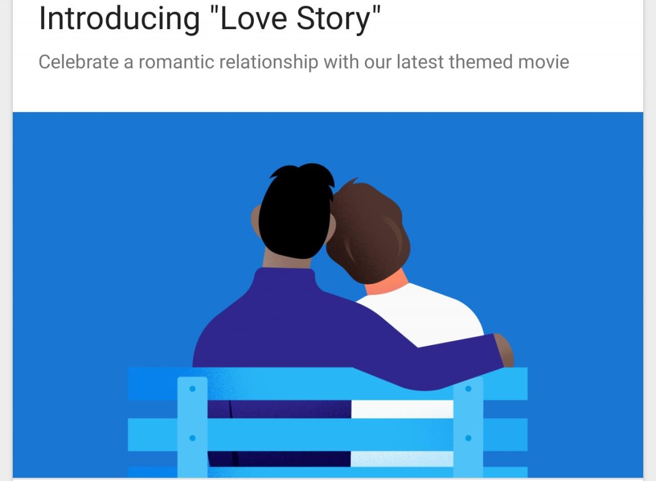 Realizzate il film della vostra storia d'amore, grazie a Google Foto!
