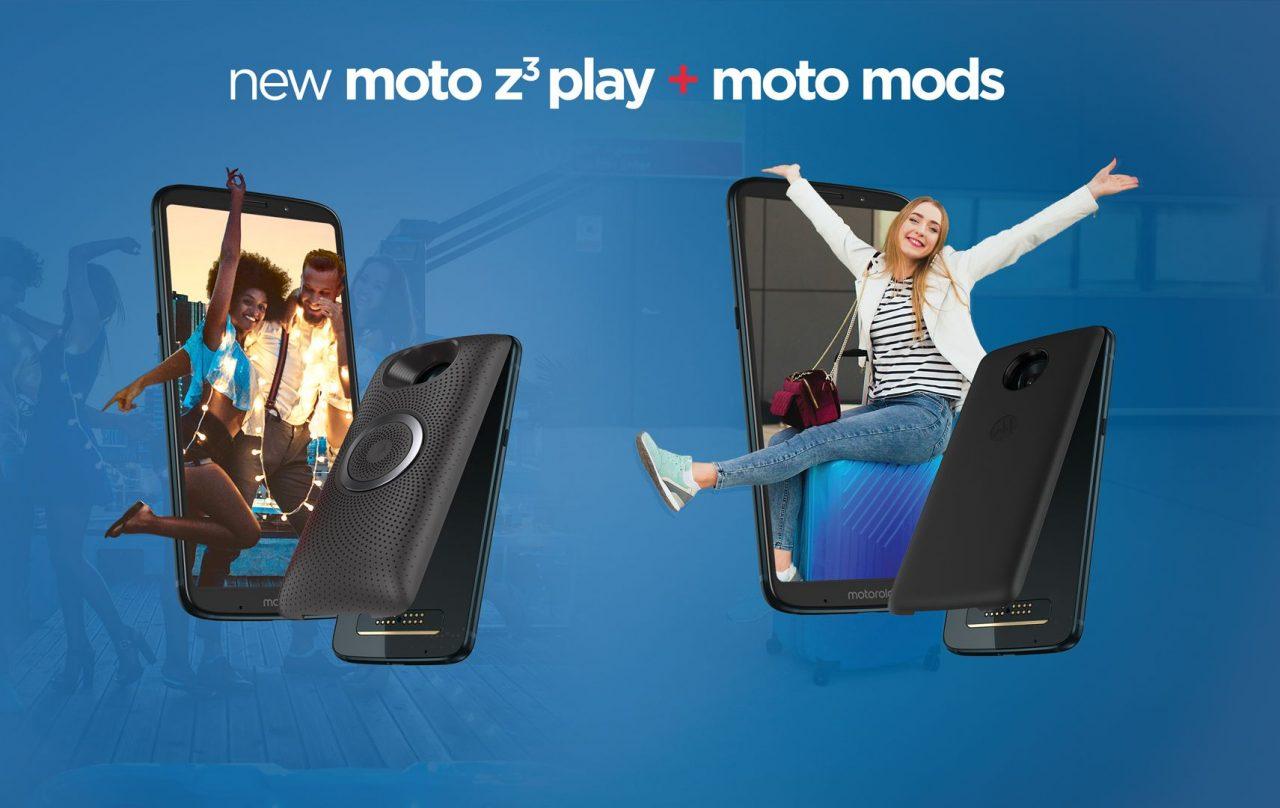 Motorola Moto Z³ Play ufficiale: display più grande, doppia fotocamera e lettore di impronte laterale (foto e video)