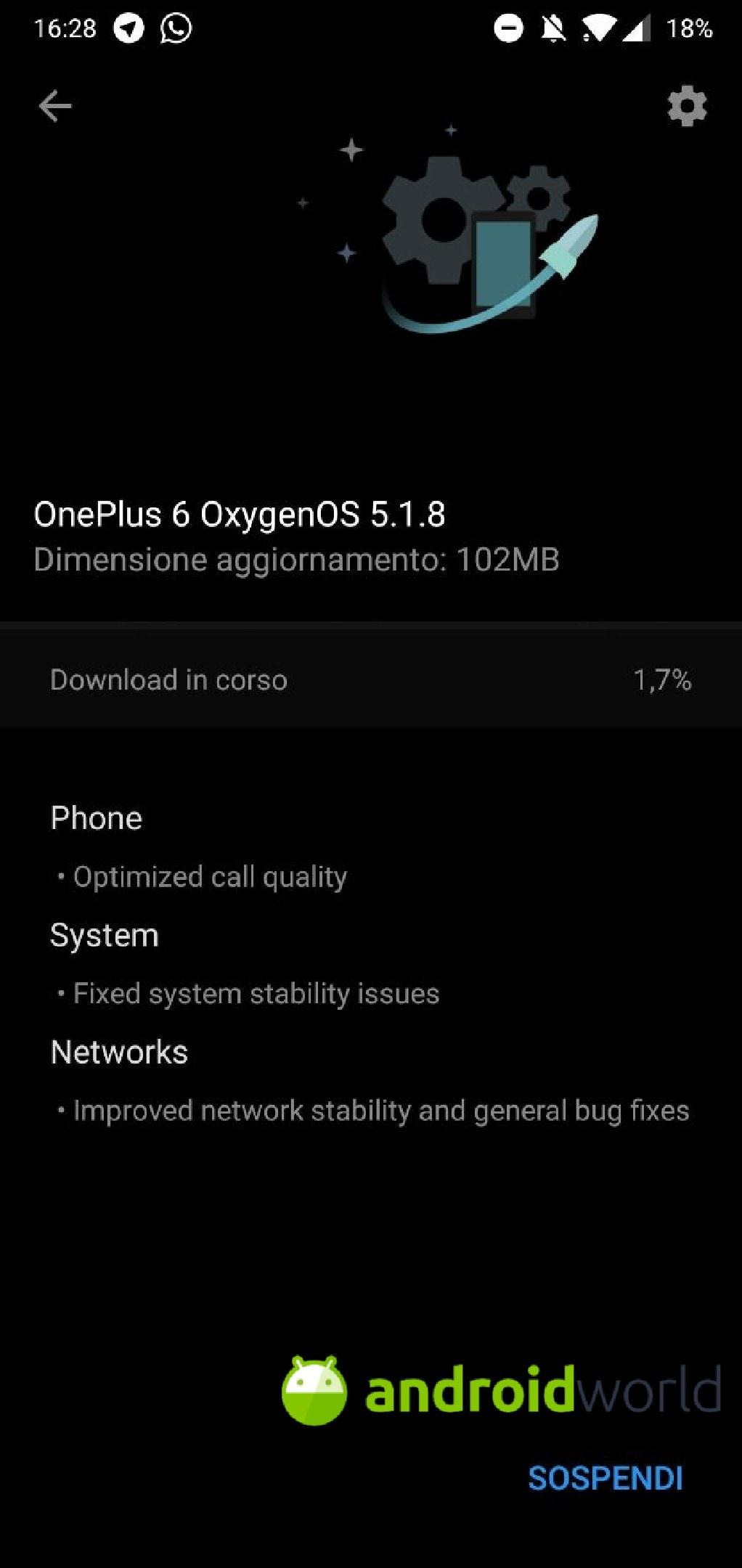 oneplus 6 oxygen 5.1.8
