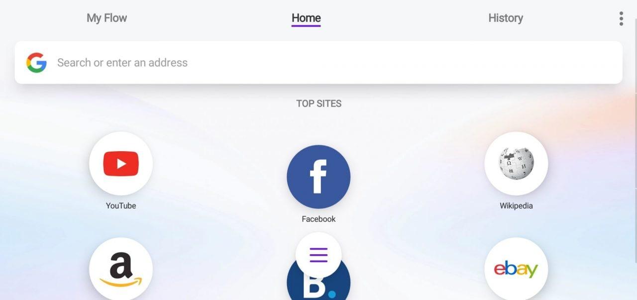Opera Touch si aggiorna con ricerca nella pagina, cancellazione cronologia e tab in background (foto)