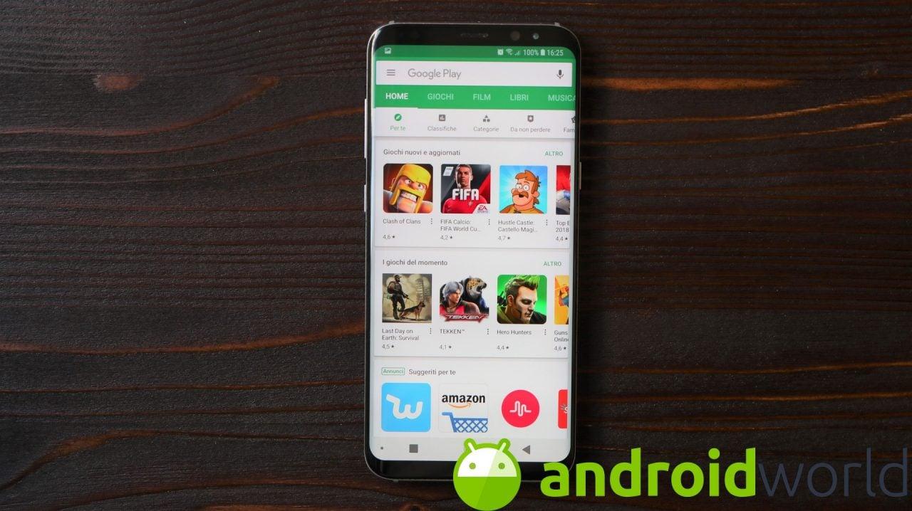 Il Play Store testa un nuovo metodo per installare rapidamente le app: l'avete anche voi? (foto)