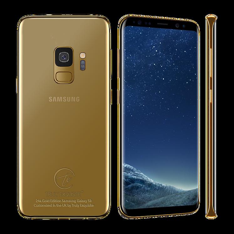 Bisogna tirar fuori oltre 4.000€ per portarsi a casa questi esclusivi Galaxy S9 e S9+: avete il coraggio? (foto)