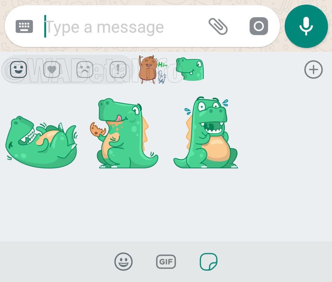 """WhatsApp continua a lavorare sugli sticker: ci saranno anche """"le reazioni""""! (foto)"""