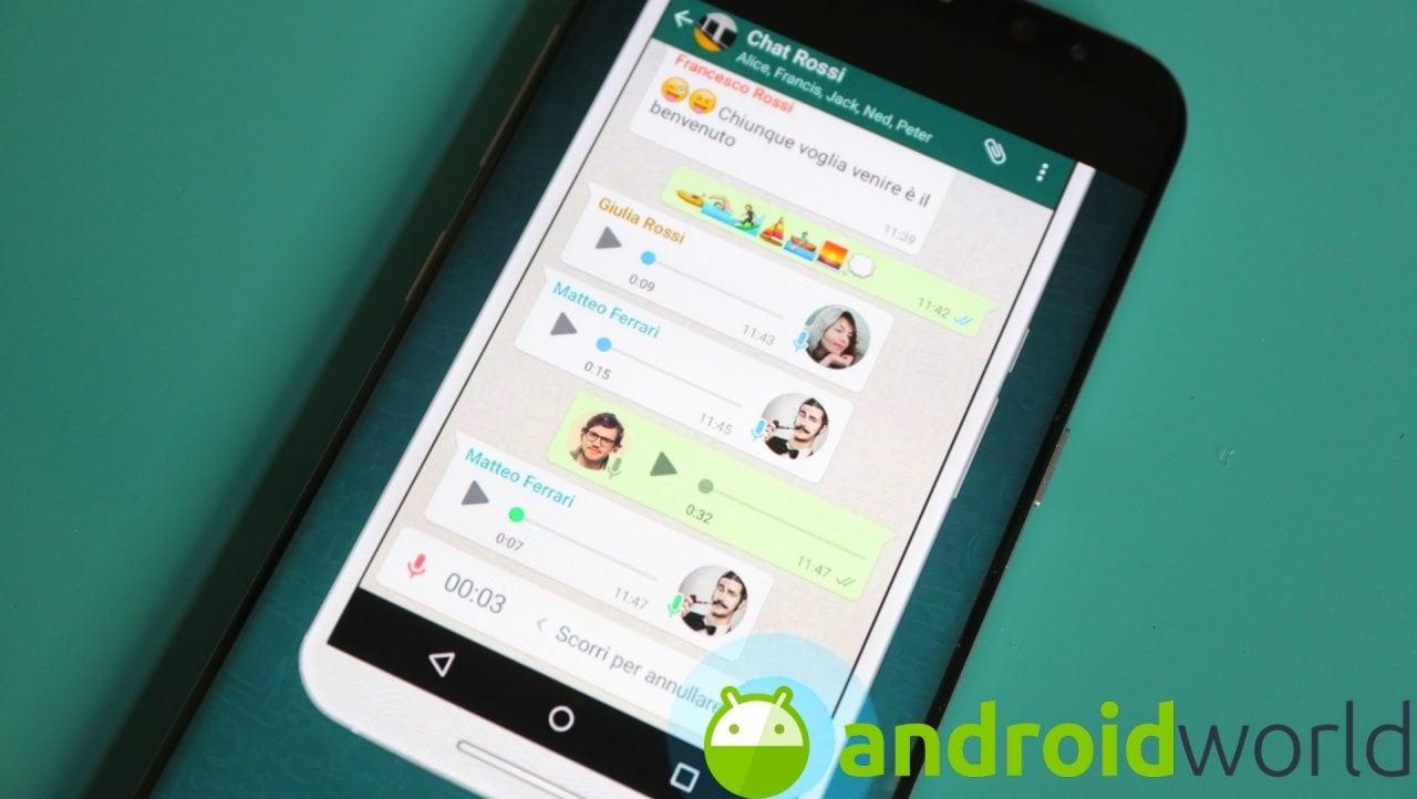 Con l'ultima beta di WhatsApp potete silenziare le chat direttamente dal pannello notifiche (foto)