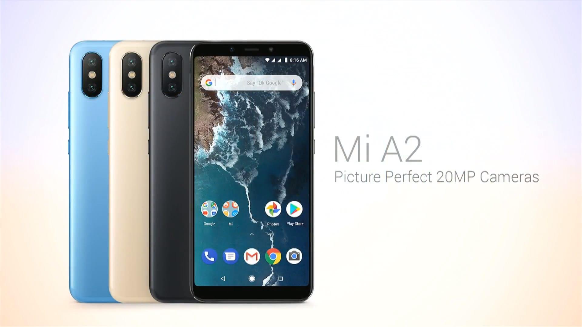 Xiaomi Mi A2 Caratteristiche Tecniche Uscita Prezzo Androidworld
