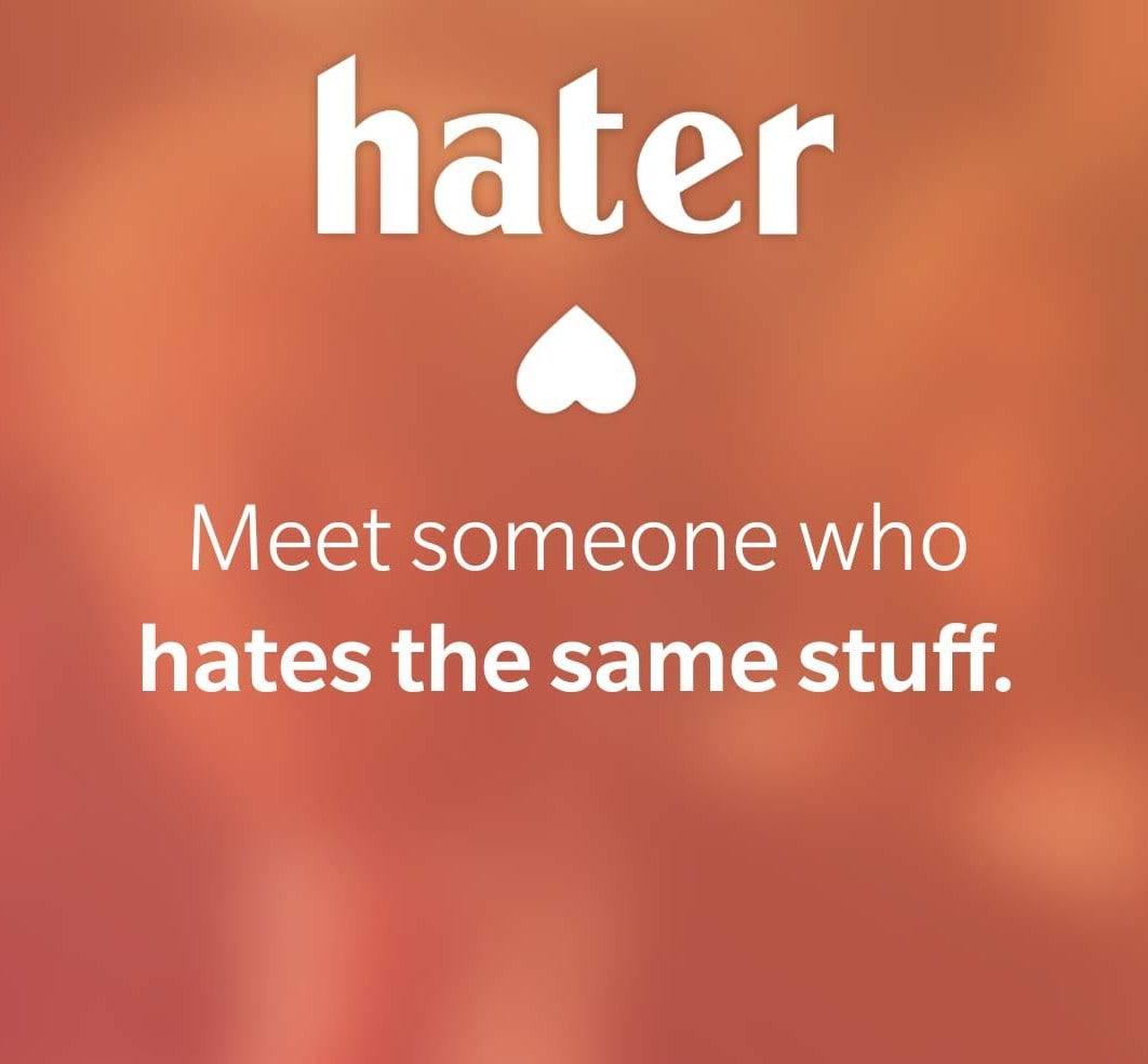 Hater vi aiuta a trovare l'anima gemella in base a quello che detestate (foto)