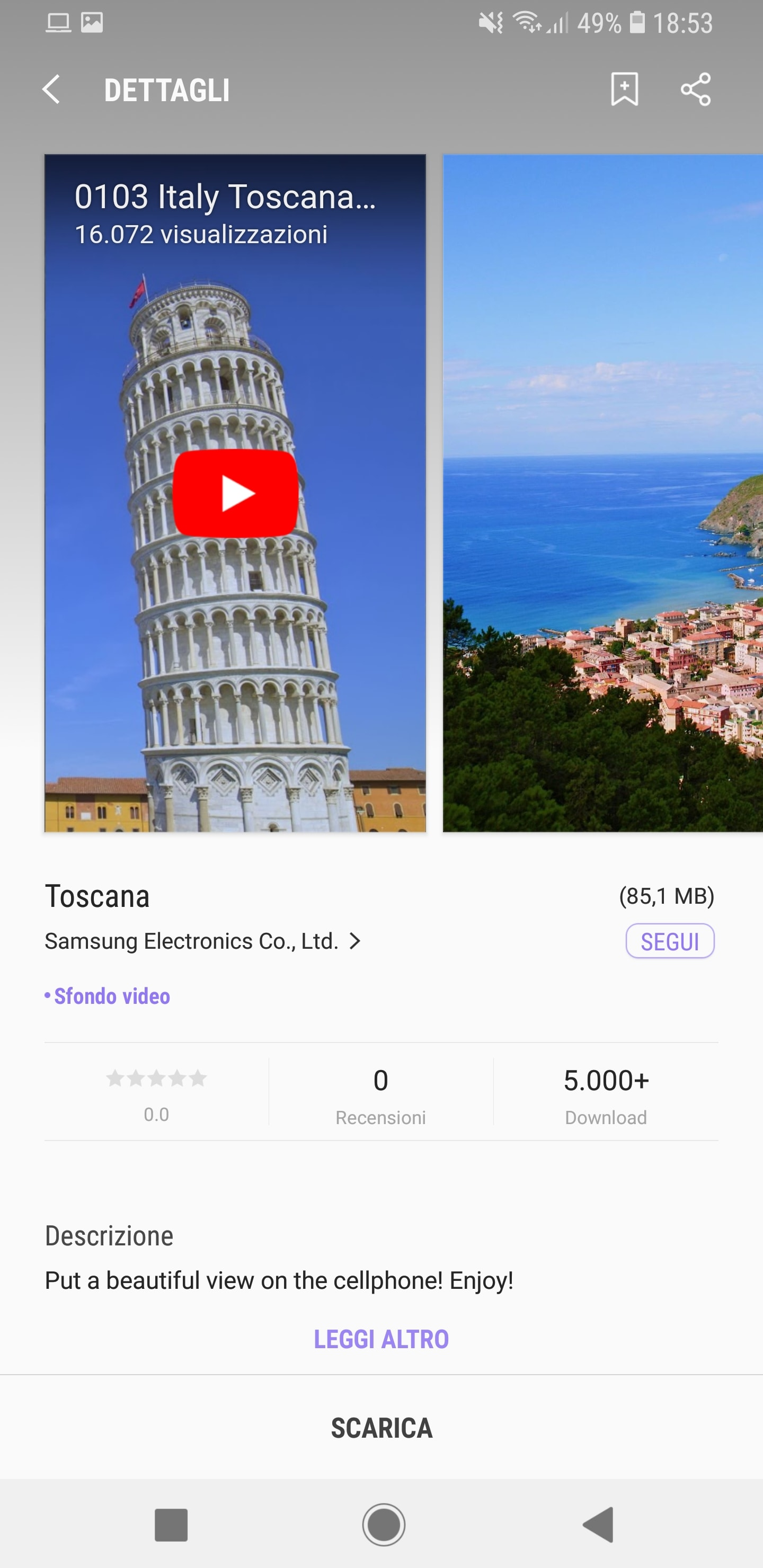 I video nella schermata di blocco arrivano anche su Galaxy S8 e Note