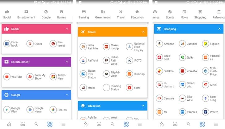 Google App Top Apps