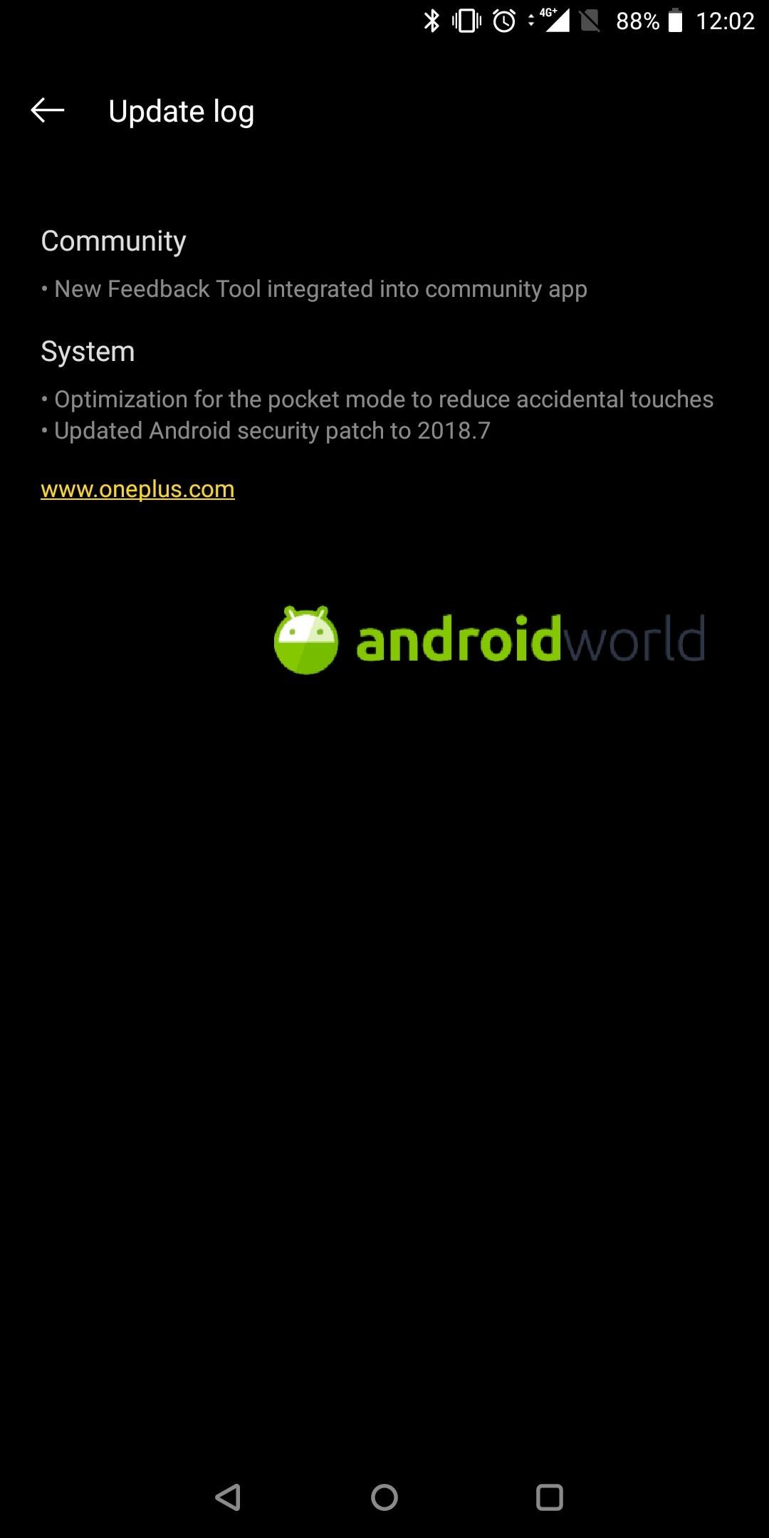 OnePlus 5-5T aggiornamento