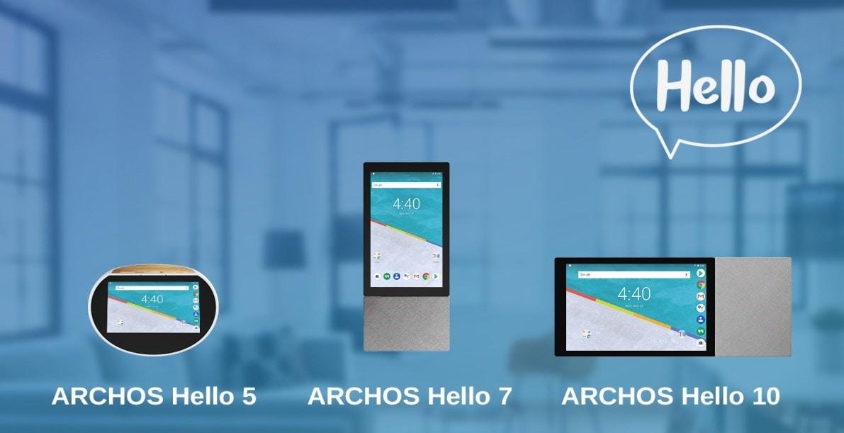 Archos Hello 5, 7 e 10: speaker smart con display per gestire la casa e fare tanto altro (foto)