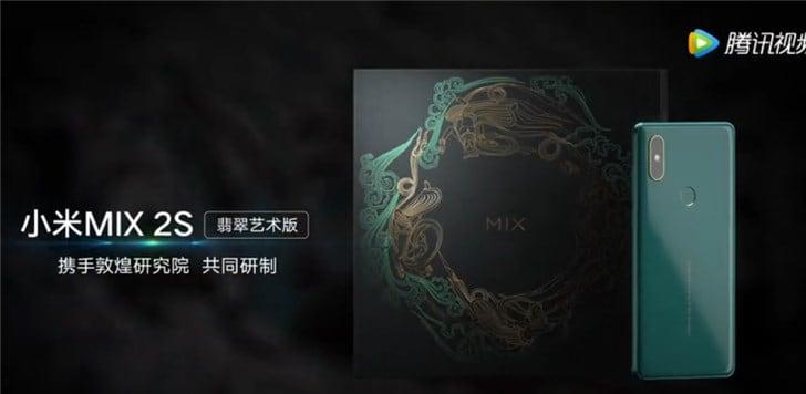 Xiaomi presenta una magnifica edizione speciale di Mi Mix 2S in verde, purtroppo solo per la Cina (foto)