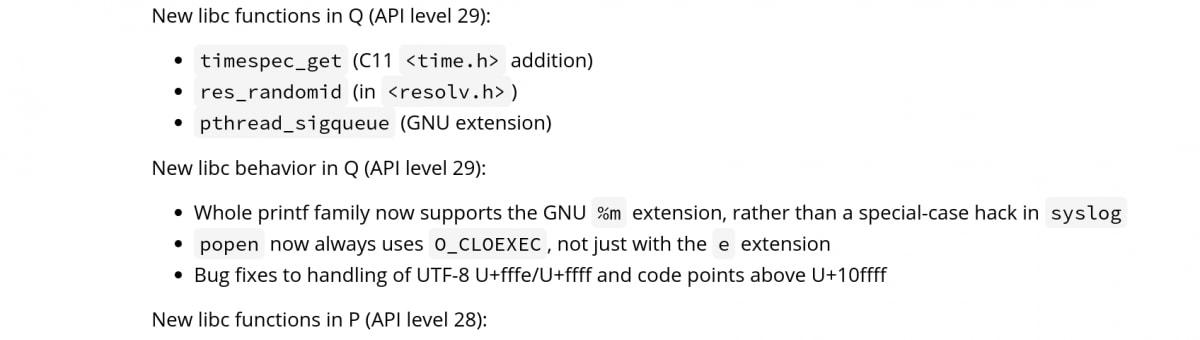 Android-Q-API-level-29