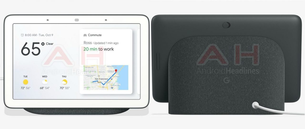 Google Home Hub sarà fatto così: nuove immagini dello Smart Display con Assistant (foto)