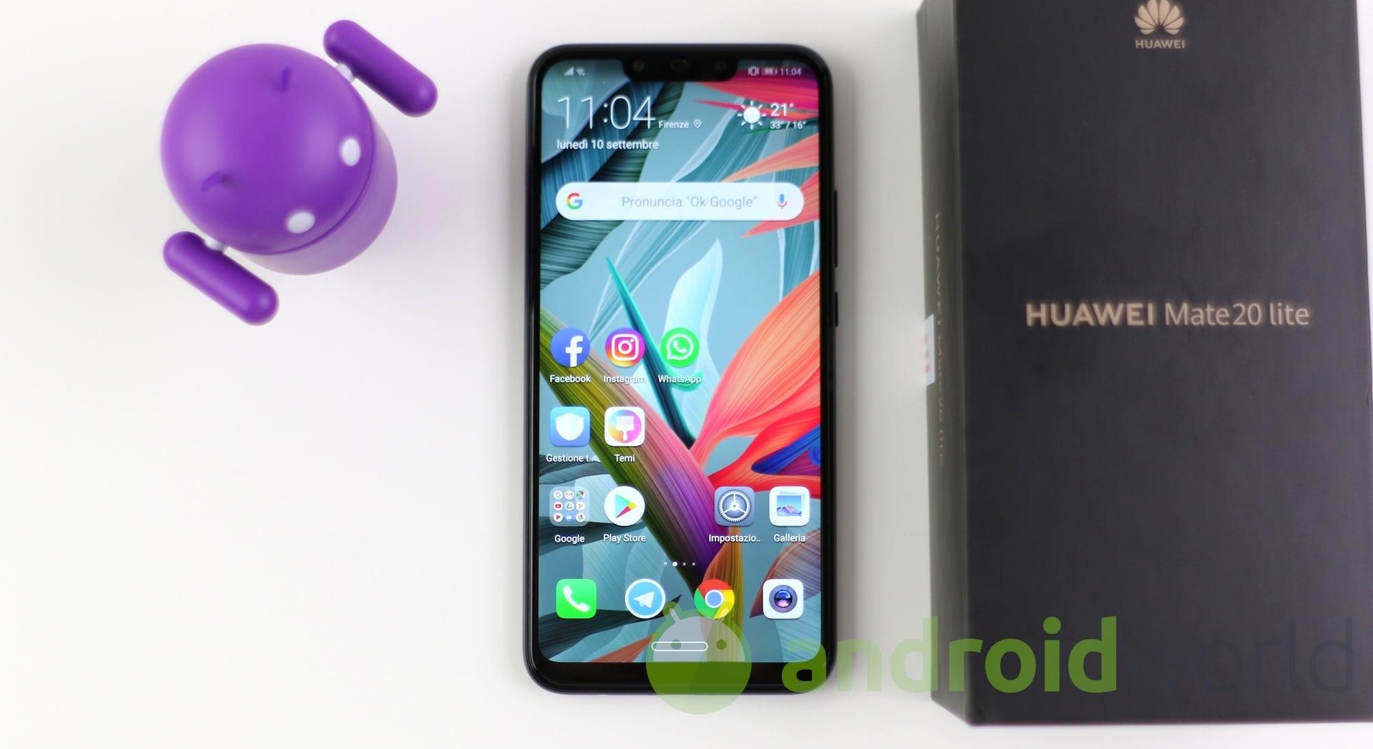 Huawei Mate 20 Lite e P Smart Z si aggio …