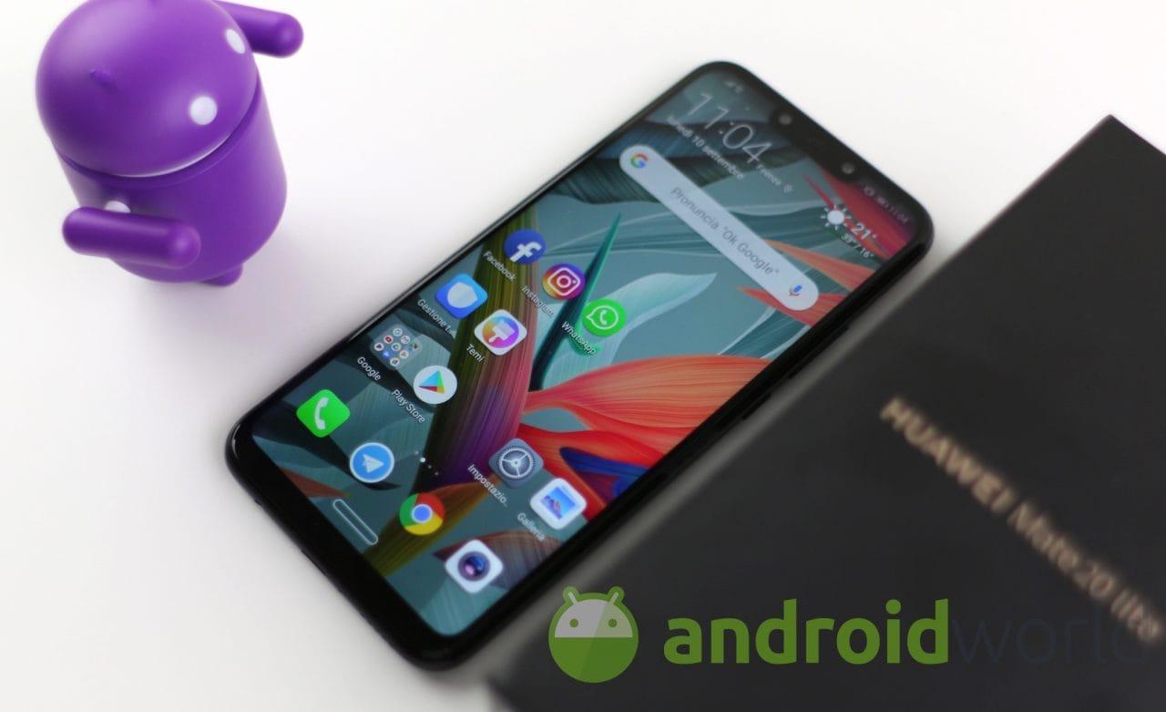 Huawei Mate 20 Lite sta ricevendo le patch di sicurezza del mese di febbraio