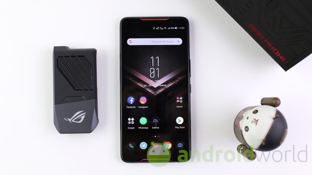 Offerta bomba per ASUS ROG Phone: super sconto di 400€ per la versione 8/512 GB
