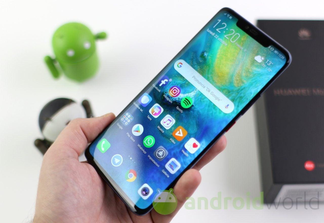 Interessati a Huawei Mate 20 o Mate 20 Pro a rate? Vodafone vi tenta con un anticipo più basso