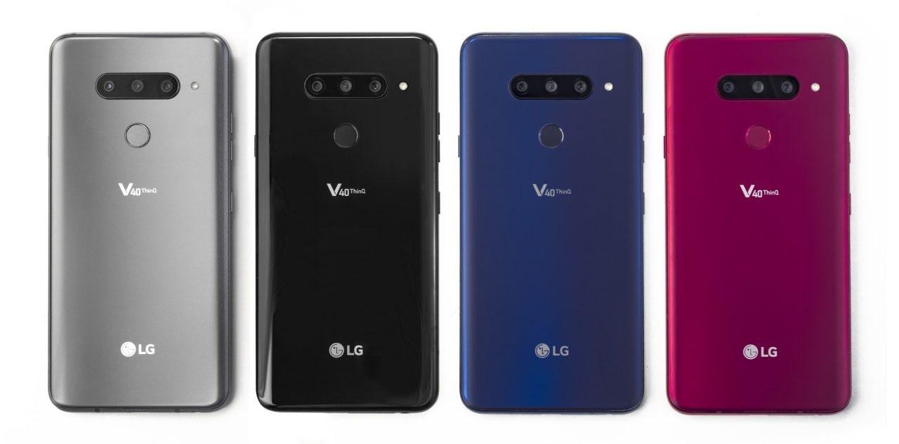 LG V40 ThinQ arriva ufficialmente in Italia: da fine gennaio nei punti vendita TIM
