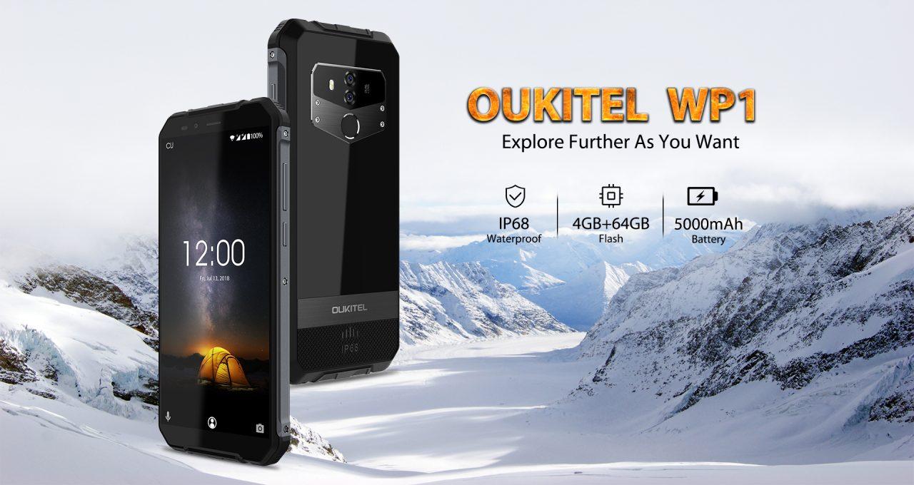 Oukitel WP1 è lo smartphone rinforzato con ricarica rapida e wireless (foto e video)