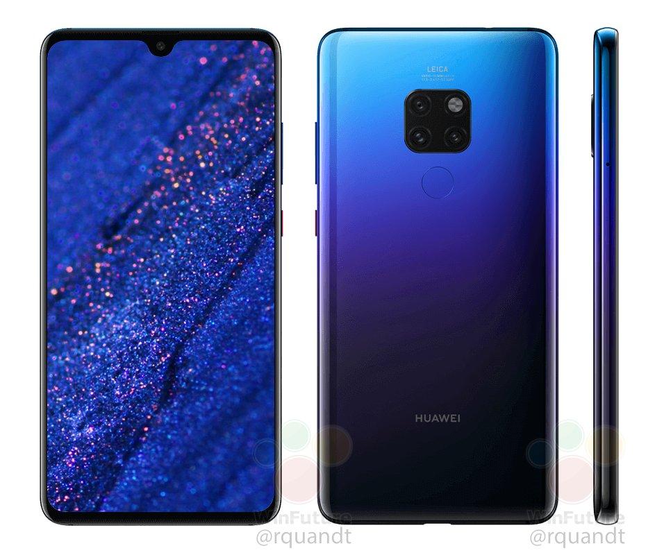Huawei Mate 20 sarà cangiante come P20: anche per lui ci sarà la colorazione Twilight