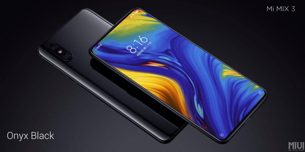 Xiaomi Mi MIX 3 in Italia verso fine anno, e nel 2019 arriverà anche la variante 5G