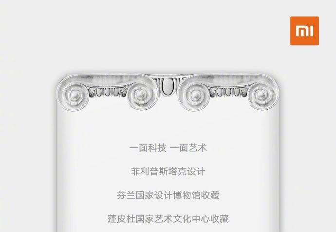Xiaomi Mi MIX 3 arriverà anche in un'edizione speciale ispirata all'arte classica