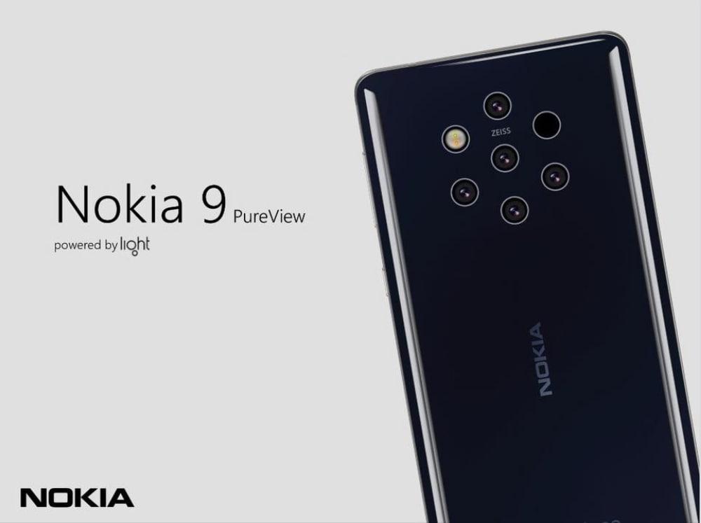 Nokia 9 arriverà con 5 fotocamere, Android Pie 9 stock e segnerà l'inizio di una serie di smartphone PureView