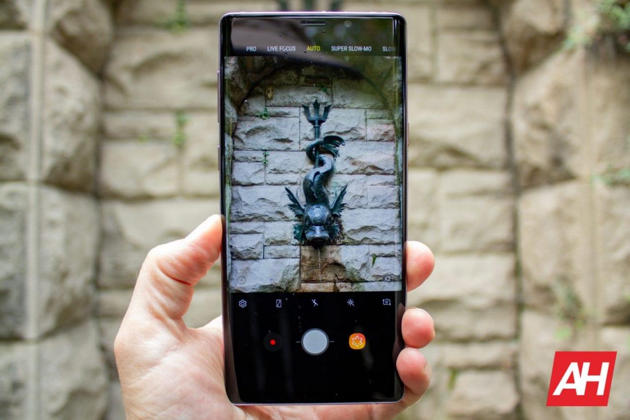 Samsung dice che risolverà il problema con la fotocamera di Galaxy Note 9 (prima o poi)