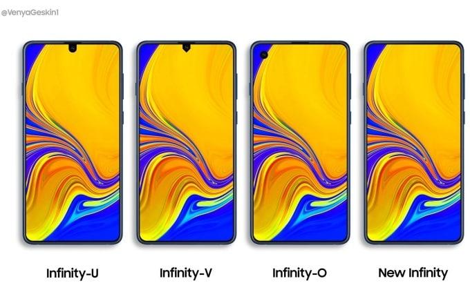 Galaxy S10 potrebbe non essere il primo con i nuovi display Infinity di Samsung (foto)