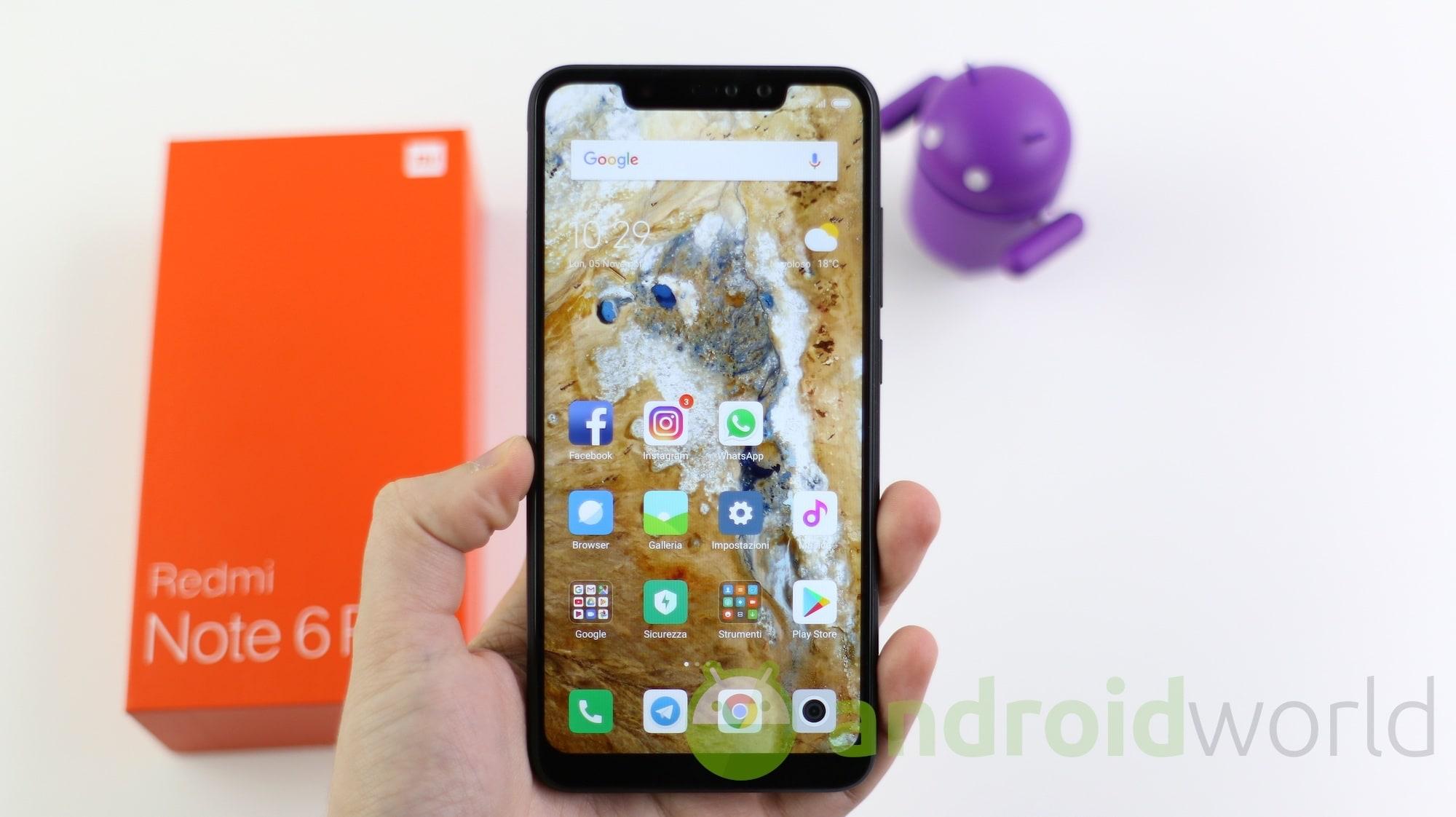 Xiaomi Redmi Note 6 Pro – 8