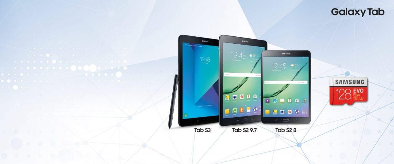 Samsung vi regala una microSD da 128 GB se acquistate uno dei suoi tablet: ecco come