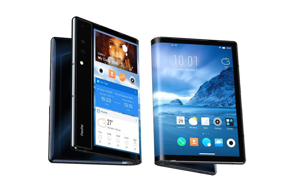 Ecco il primo smartphone al mondo con schermo pieghevole: sembra quasi un tablet e non è esattamente a buon mercato (video e foto)