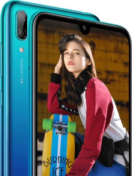 Huawei Y7 (2019) si fa vedere nei primi render: notch a goccia e design niente male (foto)