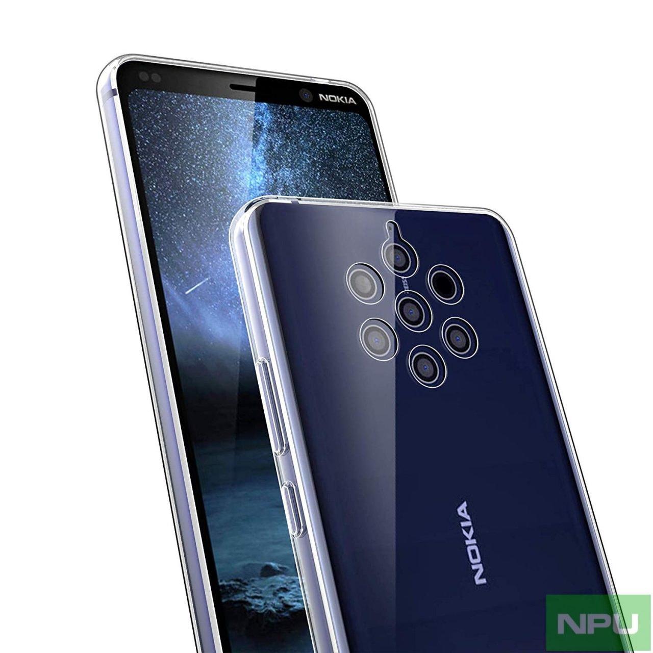 Nokia 9 sarà leggermente più lungo rispetto a Nokia 8, ma avrà molte più fotocamere (foto)