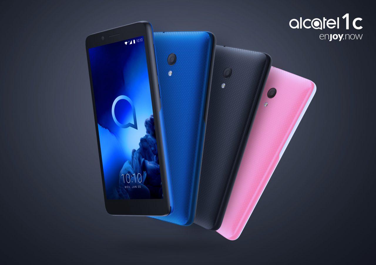 Alcatel presenta i suoi smartphone al CES: vediamo anche un Android Go sotto i 70€ (foto)