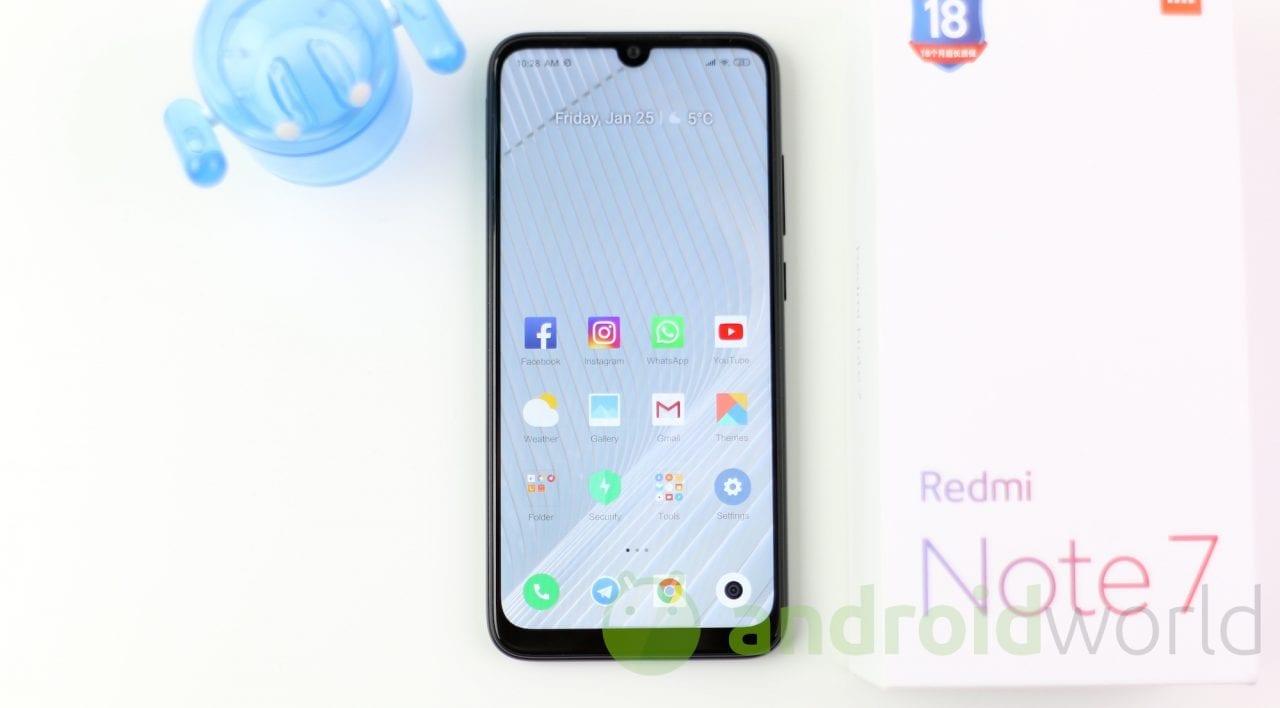 Redmi Note 7 da 4/64 GB in sconto a 169€ nei negozi Esselunga (video)