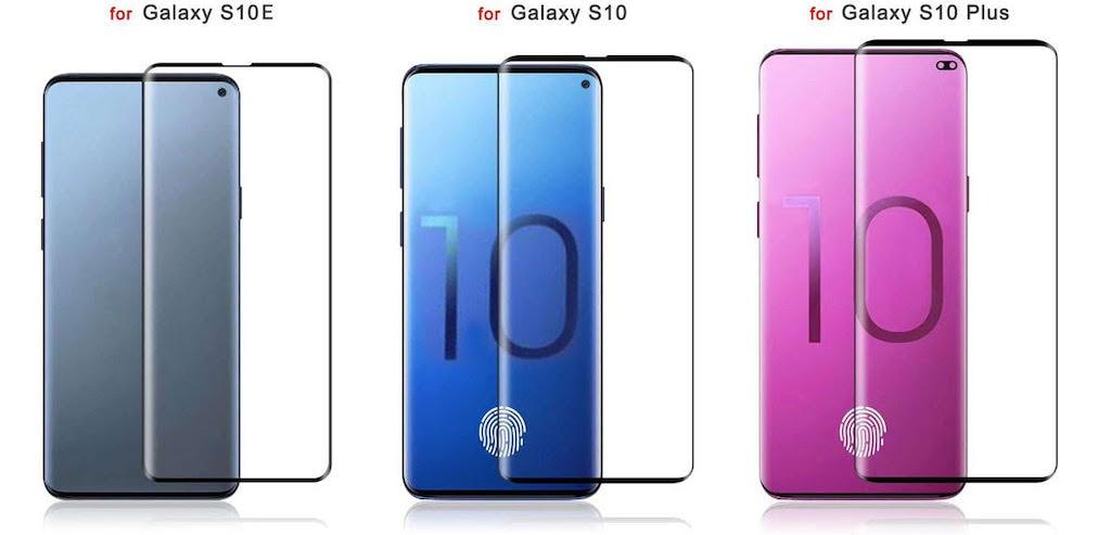 Il lettore impronte in-display di Galaxy S10 potrebbe non andare d'accordo con i proteggi schermo