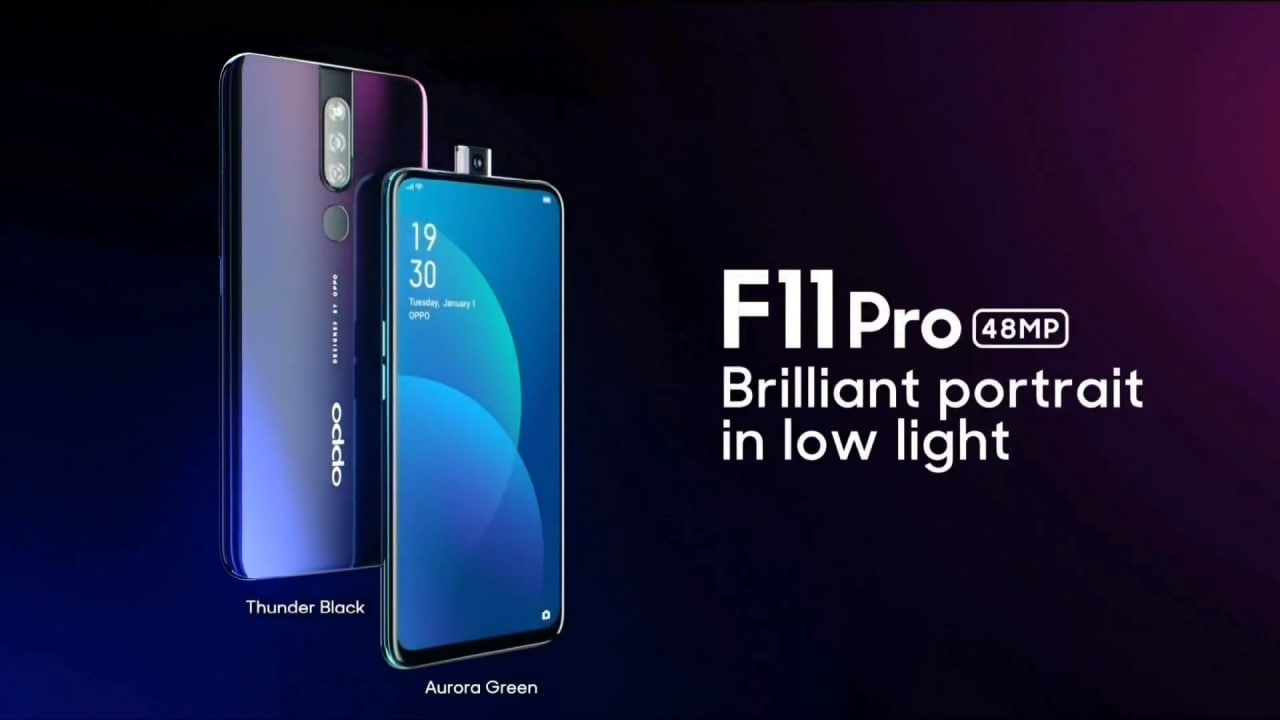 Oppo F11 Pro svelato completamente da questo video teaser ufficiale